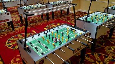 Dtown D LED Foos Fixture - Foosball table light